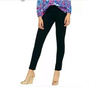 Lilly Pulitzer Black Pants Leggings  Woman M